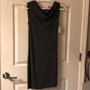NWT Sexy open back Smoke Gray mini Dress